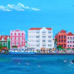 Handelskade Curaçao Giclée Fred Breebaart
