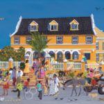 Landhuis Habaai Gallery Alma Blou Curaçao