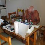 Fred op Ibiza oktober 2014, een half jaar voor zijn overlijden