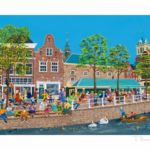 Harinkie Happen Giclée 24 x 35 cm opl. 50 € 175,- excl. lijst, € 270,- incl. lijst