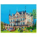 Kasteel Gronsveld Giclée 20 x 25 cm opl. 50 € 105,-- excl. lijst, € 190,-- incl. lijst