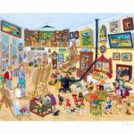 Schildersatelier Giclée 25 x 34 cm opl. 50 € 175,-- excl. lijst, € 270,-- incl. lijst