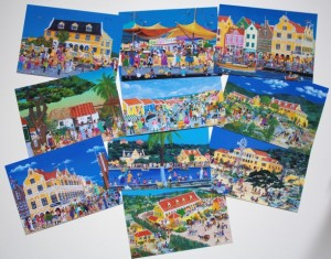setje van 10 briefkaarten € 7,50